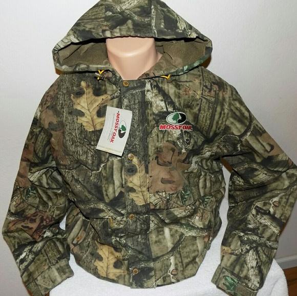 b63304255a747 Mossy Oak Jackets & Coats | Breakup Hooded Jacket Nwt L | Poshmark